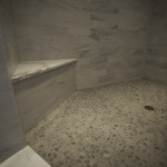 Natural stone & Marble shower
