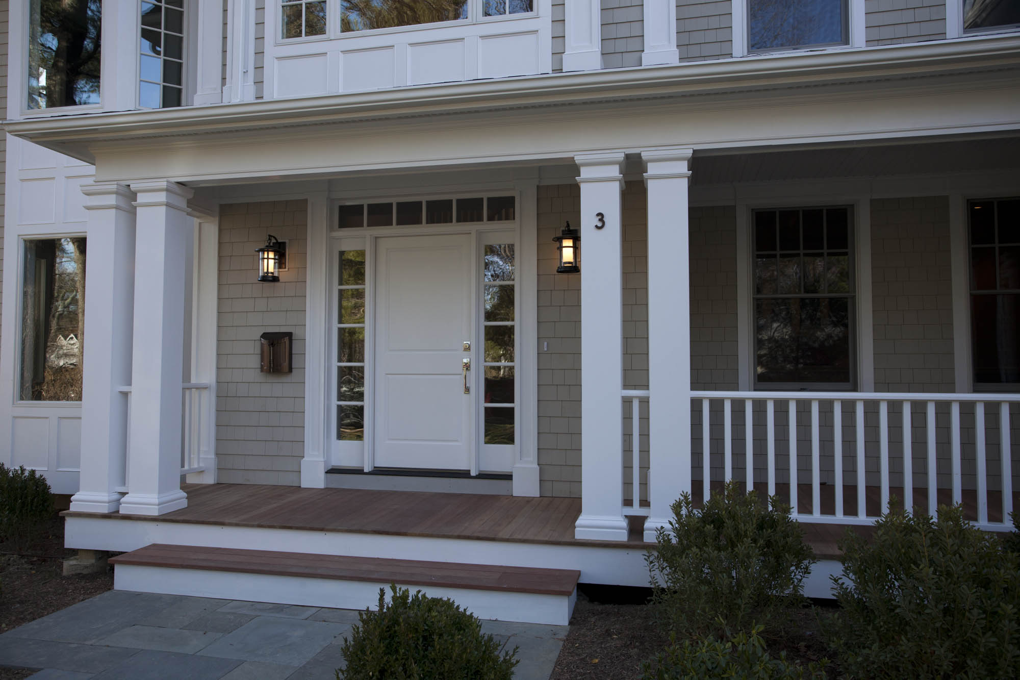 Coyle Modular Homes Custom Colonial In Scarsdale Coyle