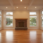 Beautiful hardwood floors extend throughout the house.