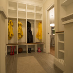 mudroom with built-ins