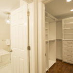 master bath and dual walk-in closets